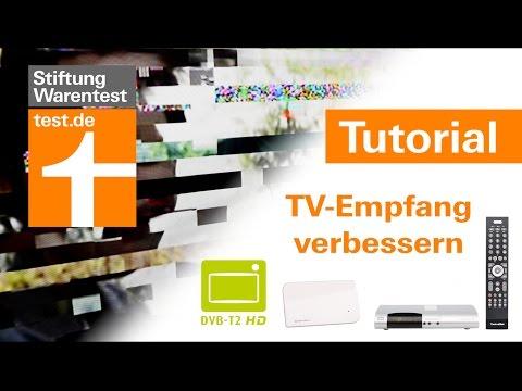 Tutorial: DVB-T2 HD TV-Empfang verbessern - 5 Tipps gegen Klötzchen & Aussetzer