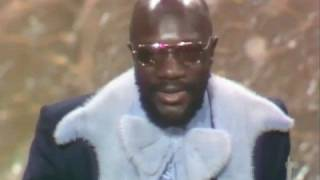 "Isaac Hayes winning an Oscar® for ""Shaft"""