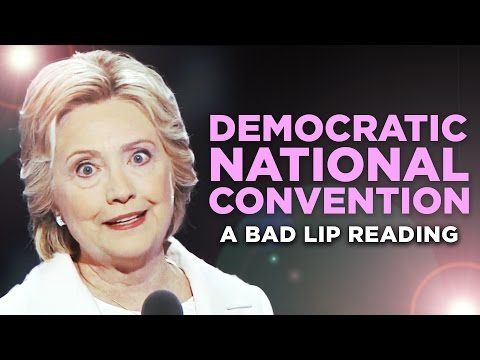""", title : '""""DEMOCRATIC NATIONAL CONVENTION"""" — A Bad Lip Reading'"""