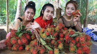 Yummy cooking dessert Rambutan Fruit recipe - Cooking skill