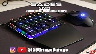SADES mechanical one hand keyboard (amazon budget)