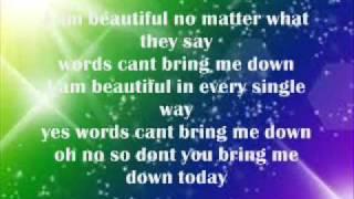 China Anne Mcclain - Beautiful lyrics