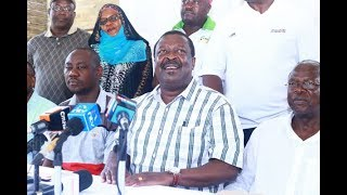 Raila-Uhuru deal not a Nasa pact: Mudavadi - VIDEO