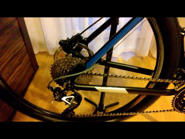 Видео Втулка задняя Shimano Alivio FH-M4050 ALIVIO 32H QR black
