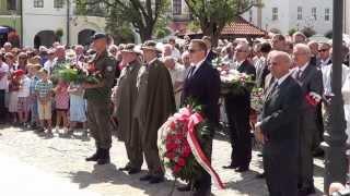 Obchody Święta Wojska Polskiego w Krośnie
