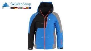 Spyder, Orbiter, ski-jas, heren, sea blauw/zwart/grijs