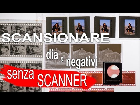 Scannerizzare Negativi Fotografici senza Scanner – Guida alla Scansione di Negativi e Diapositive