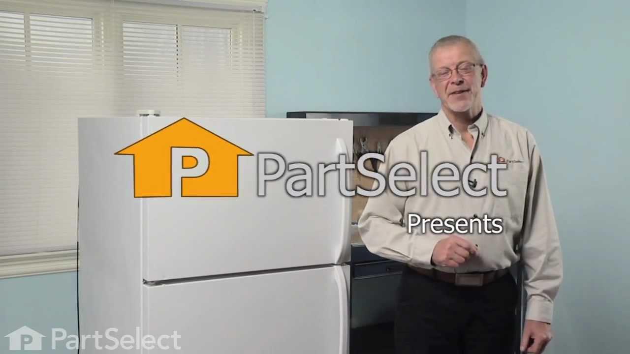 Replacing your Frigidaire Refrigerator Door Rack