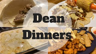 #whatsfordinner || Dean Dinners || FAVORITE MEAL OF THE WEEK!!
