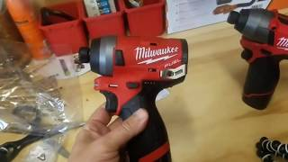 Milwaukee M12 Fuel Gen 2 Impact Driver Torture Test (2553)
