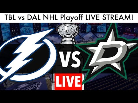 Dallas Stars vs Tampa Bay Lightning SCF Game 3 LIVE (NHL Playoffs Stream Stanley Cup Play By Play)
