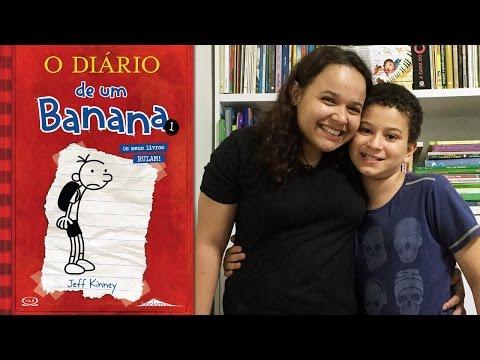 Livro Diário de um Banana I - Antonio Emediato feat Eloah Cristina - Livros infantis