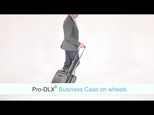 "Pro-Dlx 5 Laptop Bag with wheels  15.6"" video 1"