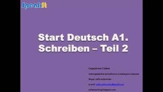 Deutsch A1 Schreiben Free Online Videos Best Movies Tv Shows