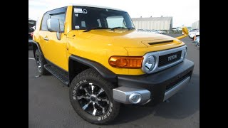 Final Edition FJ Cruiser Ready To Leave Japan. Nasty looking car with some great and not so great.