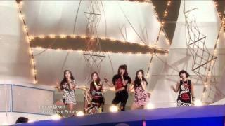 4Minute - Hot Issue(remix ver.), 포미닛 - 핫이슈(리믹스 버전), Music Core 20090801