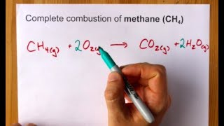 Complete Combustion of Methane (CH4) Balanced Equation