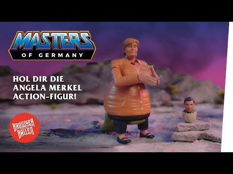 Die Angela Merkel Action-Figur