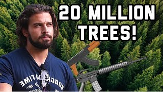 Planting 20,000,000 Trees (With GUNS!)