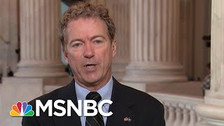 Rand Paul Talks Chaos In Syria, 'Shadow Policy' In Ukraine, Hunter Biden | Velshi & Ruhle | MSNBC