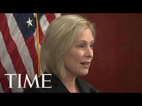 Senator Kirsten Gillibrand Responds To Trump's Tweet And Calls It 'Sexist Smear' | TIME