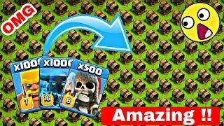 500 Max Giant Cannon VS Max 1000 Barbarian, 100 Super Pekka, 500 Giant Skeleton | COC Private Server