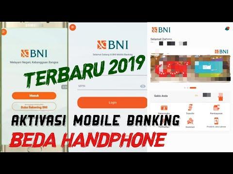 CARA AKTIVASI MOBILE BANKING BNI TERBARU 2019 | DhinningraT Chanel