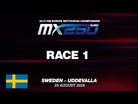 EMX250 Race 1 Highlights - Round of The Sweden 2019 #motocross