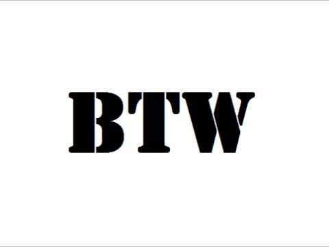 BTW Anthem