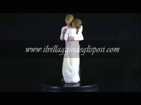 """Video - Cake topper Willow tree - """"Promise"""""""