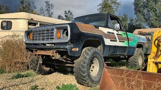 Resurrecting A DODGE POWERWAGON! Off The Road For Over 20 Years!