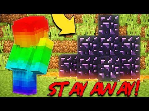 RAINBOW STEVE FOUND ANTI STEVE OBSIDIAN!