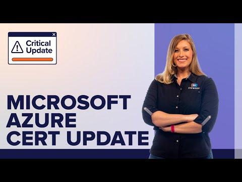 Microsoft Azure Certification Path Update 2020 | A Critical Update ...