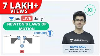 JEE Mains: Newton Laws of Motion- Lecture 1 | Unacademy JEE | JEE Physics | Namo Kaul
