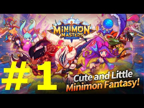 Minimon Masters Gameplay Android part 1