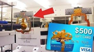 $500 VISA GIFT CARD KEYMASTER WIN!!   Arcade Games