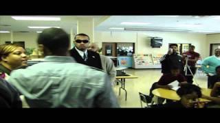 Trey Surprises Students at Frederick Douglas High School