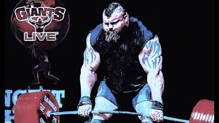 FULL SHOW: Eddie Hall 500kg Deadlift RECORD , Impossible became Possible - GIANTS LIVE