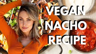 Vegan Nacho Recipe + SKINNY COOKING TIPS!