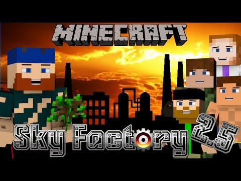 Minecraft Walkthrough - SkyFactory 2 5 | #4 CREEPER PROBLEMS