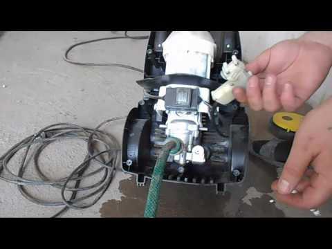 Ремонт автомойки  Huter W165-AR в гаражных условиях AVTO CLASS