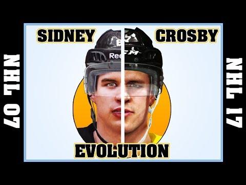 SIDNEY CROSBY evolution from NHL 07 to NHL 2017 🏒