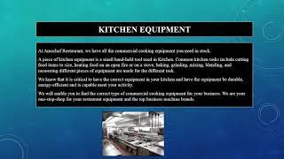 Restaurant Equipment Miami