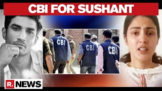 Sushant Death Probe: CBI To Take Over Sushant Case Investigation - Download this Video in MP3, M4A, WEBM, MP4, 3GP