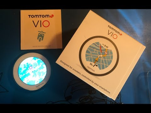 Tom Tom Vio ||| navigatore economico per moto