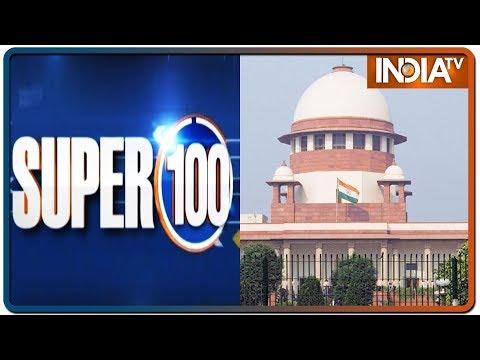 Super 100: Nonstop Superfast | January 22, 2020 | IndiaTV News
