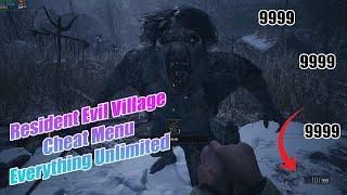Resident Evil Village Cheat Menu