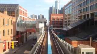 preview picture of video 'Detroit People Mover 2014'