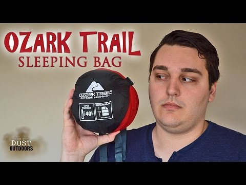 GREAT BUDGET Summer Sleeping Bag | Ozark Trail 40 Degree Sleeping Bag | Backpacking, Hiking, Camping