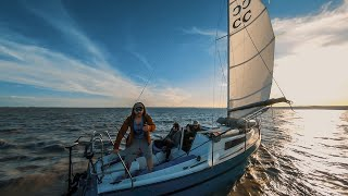 Sailing Voyage with a FPV Drone